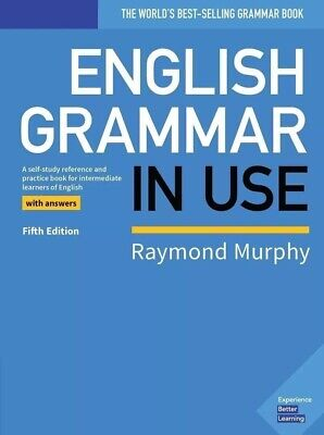 English Grammar in Use Intermediate 2019 5th Edition (Fast Delivery)