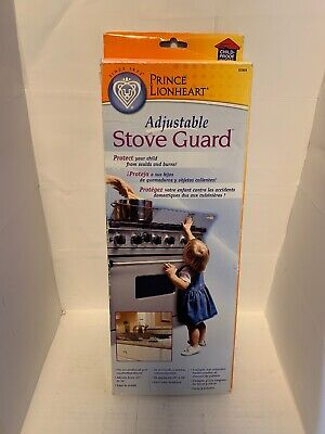 Prince Lionheart Adjustable Stovetop Oven Stove Child Proof Guard 0089