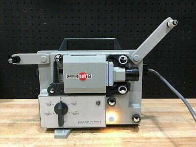 Eumig Mark 8 Super Film Projector With Case And Power Cord