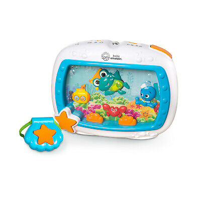 Soother Musical Crib Toy And Sound Machine W/ Remote, Lights And Melodies