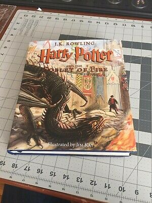 Harry Potter and the Goblet of Fire: The Illustrated Edition _Hardcover, 2019_