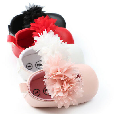 Infant Toddler Baby Girls Shoes Princess Flower Sandles Kids First Walkers Shoes