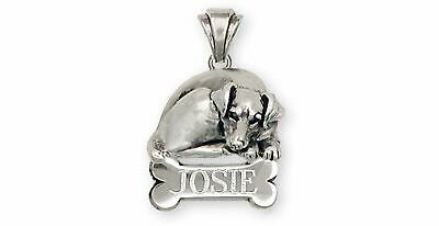Jack Russell Jewelry Sterling Silver Handmade Jack Russell Terrier Personalized