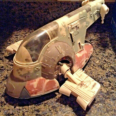 STAR WARS Slave 1 - Boba Fett The Empire Strikes Back COMPLETE