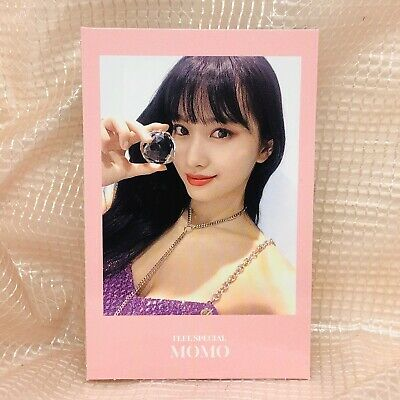 MoMo Official Photocard Twice 8th Mini Album Feel Special Kpop 01