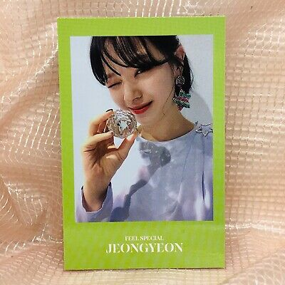 Jeong Yeon Official Photocard Twice 8th Mini Album Feel Special Kpop 01