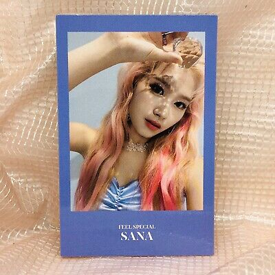 SaNa Official Photocard Twice 8th Mini Album Feel Special Kpop 01