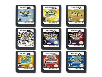 DS Pokemon Games: Platinum/Diamond/Pearl For All DS Console DS 3DS 3DSLL 3DSXL..