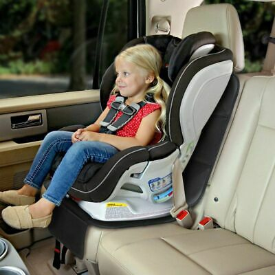 UK Waterproof Car Seat Protector Non-Slip Child Safety Mat Cushion Cover Black