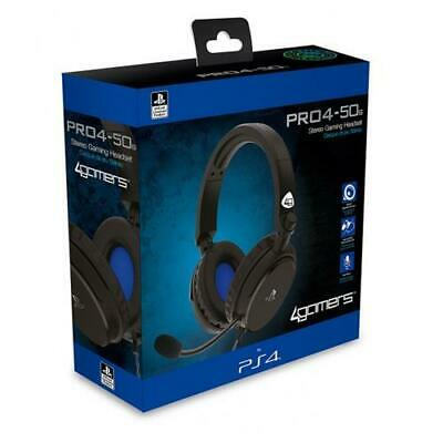 PS4 Gaming Chat Headset with Mic BLUE Officially Licensed PRO4-10 PlayStation 4
