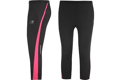 Karrimor Run Capri Tights Girls Pants Bottoms Sports Training Clothing