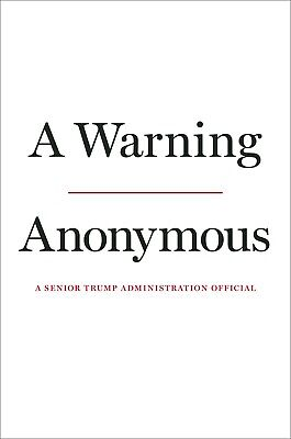 A Warning Hardcover – November 19, 2019 by Anonymous Pre-order