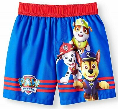 PAW PATROL CHASE UPF-50 3T or 4T  $22 Bathing Suit Swim Trunks Toddlers Sz 2T