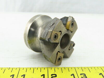 """INGERSOLL Indexable Hi-Feed Face Mill 2/"""" 4FL 4TH SP6H-02R02 3026092"""