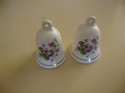 2 x China Bells, lovely condition