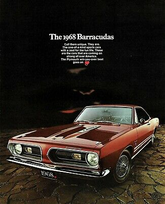 1967 Plymouth Barracuda Coupe Reserved Parking Only Sign 12x18-8x12 Aluminum