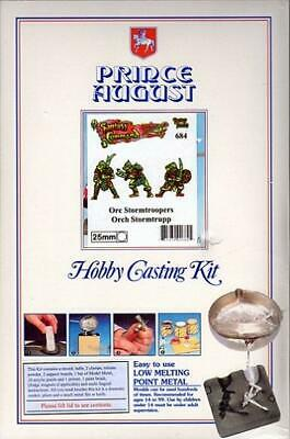 Prince August Hobby Model Accessory Hobby Casting Kit - Orc Stormtroopers MINT