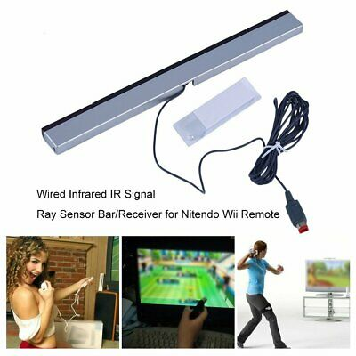 Wired Infrared IR Signal Ray Sensor Bar/Receiver for Nitendo Wii Remote EY