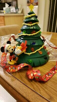 Disney Theme Parks 2019 Light Up Christmas Tree Popcorn Bucket - Brand New