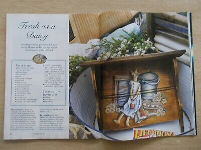 Country Folk Art Vol 1 #5~Kookaburra~Strawberries~Banksia~Dolls~Crate~Pots...