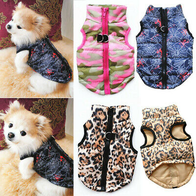 Winter Dog Clothes for Small Dogs Chihuahua Clothes Warm Puppy Coat Jacket Pet