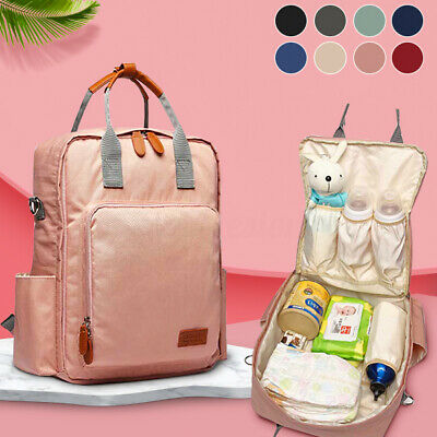 LEQUEEN Baby Diaper Bag Mummy Maternity Nappy Waterproof Travel Backpack