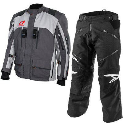 Oneal Baja Black Grey Gear Combo
