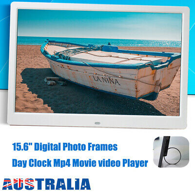 15.6'' HD1080P LED Digital Photo Picture Frame Movie Player Video Remote Control