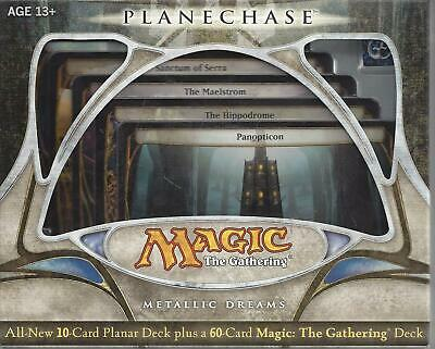 MTG Magic the Gathering   English Planechase   Metallic Dreams  New Sealed