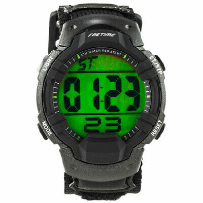 AST Fastime SW3 Sports Wristwatch with Countdown and Chrono Functions