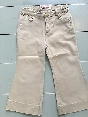 Age 2 Years Lovely Baby Gap Boot Cut Girl's Chinos, Excellent Condition