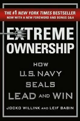 NEW Extreme Ownership By Jocko Willink Hardcover Free Shipping