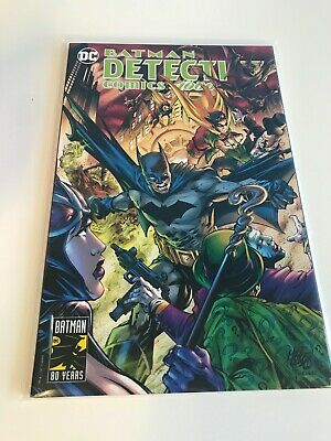 DETECTIVE COMICS 1000 MIKE LILLY EXCLUSIVE VARIANT NM BATMAN