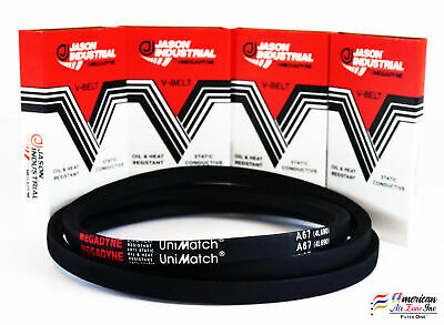FACTORY NEW! A67//4L690 V-Belt  1//2 X 69 SAME DAY SHIPPING