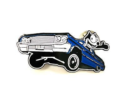 Felix the cat Lowrider T-Shirt Red Design 9076