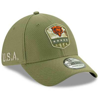 New Era 2019 Men's Chicago Bears Salute to Service 39Thirty Hat NFL