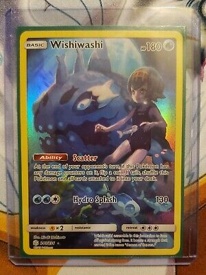Wishiwashi - Full Art - Secret Rare - Pokemon TCG - Cosmic Eclipse - 240/236