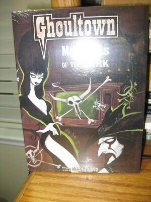 Ghoultown Mistress Of The Dark Dvd/Cd Set Elvira Brand New Factory Sealed Rare!