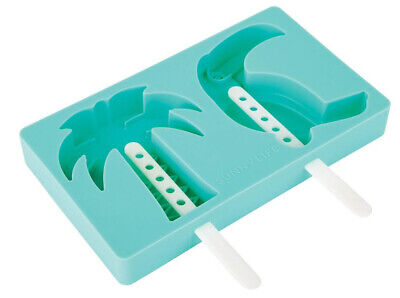 SunnyLife Tropical Pop Moulds Popsicle Molds Designed Australia Palm Tree Toucan