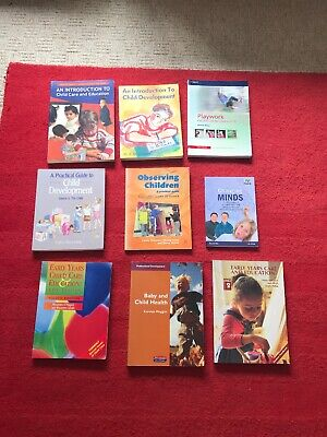 9 Book Bundle NVQ Child Development Observing Children Childminder School Nurser