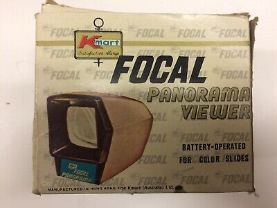 Antique Focal Panoramic Slide Viewer