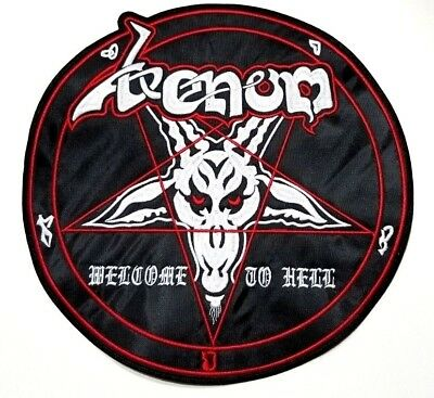 VENOM ( welcome to hell ) EMBROIDERED BACK PATCH
