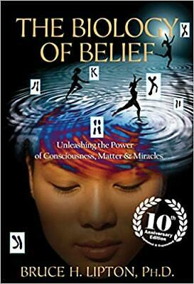 The Biology of Belief 10th Anniversary Edition...by Bruce H. Lipton P-D-F 🔥