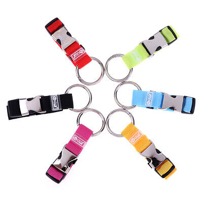 1pc Travel Add-A-Bag Luggage Strap Jacket Gripper Straps Baggage Suitcase BuckES