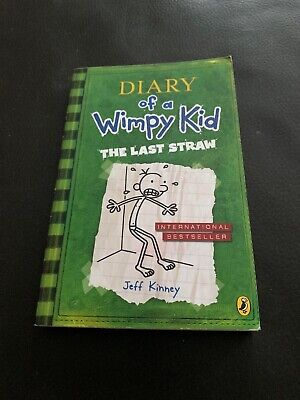 The Last Straw (Diary of a Wimpy Kid book 3) by Jeff Kinney (Paperback, 2009)