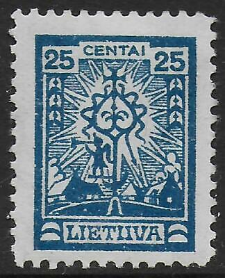 Lithuania stamps 1924 MI 215 MNH VF Scarce stamp!