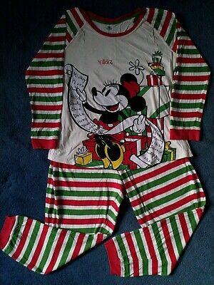 Disney Store Minnie Mouse Women's Christmas Pyjamas Size XL
