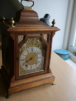 German Lenzkirch ting tang quarter striking bracket clock for restoration