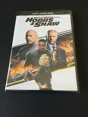 Hobbs + Shaw/Dvd And Digital Code/Brand New