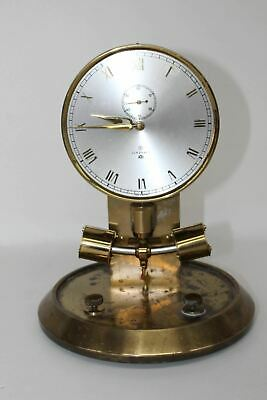 FAULTY JUNGHANS ATO Golden Brass Electronic Pendulum Clock For Spares/Repairs